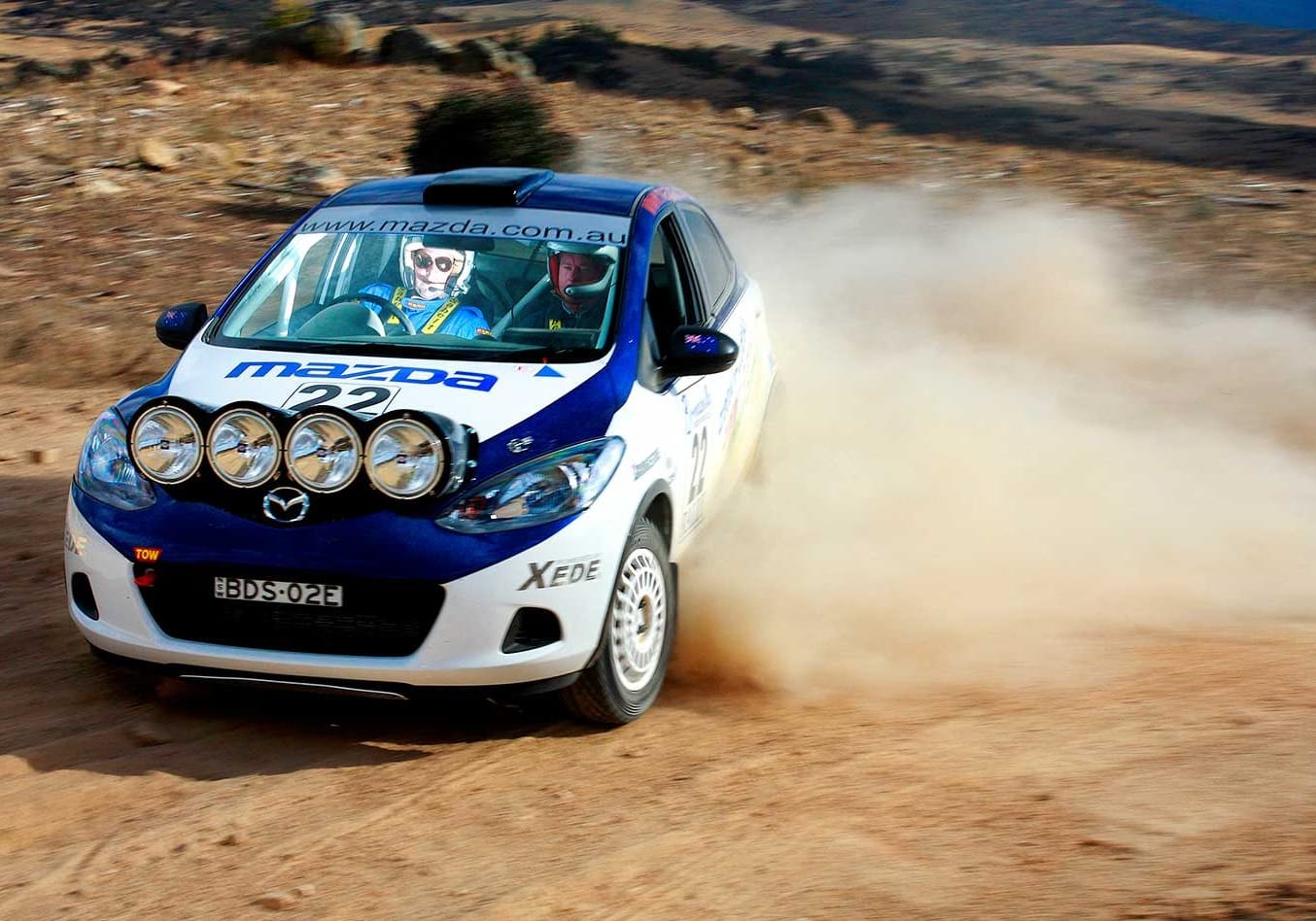 How to drive a rally car