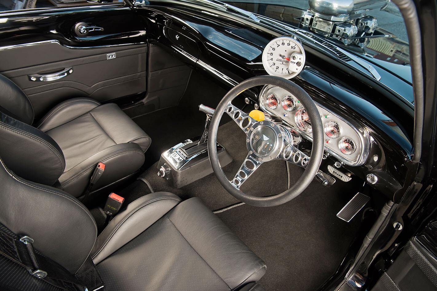 Ford Falcon XK ute interior