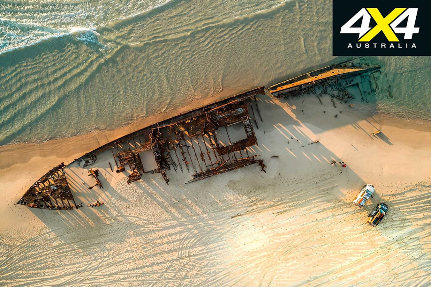 4 X 4 Adventure Series South East Queensland Part 2 Maheno Wreck Jpg