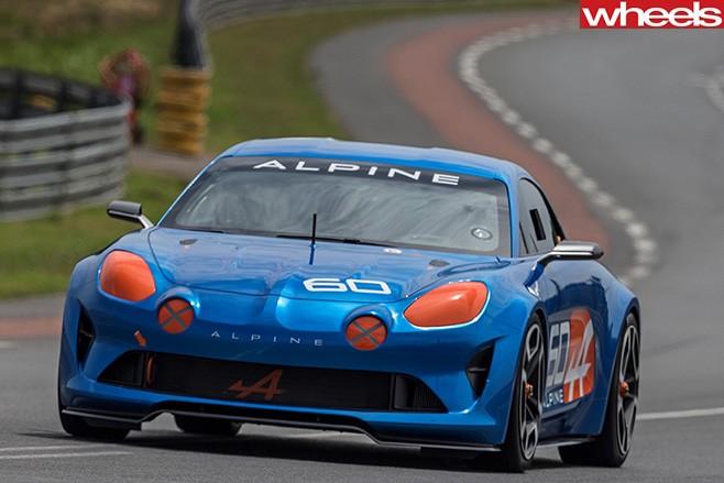 Renault -Alpine -at -Le -Mans -front