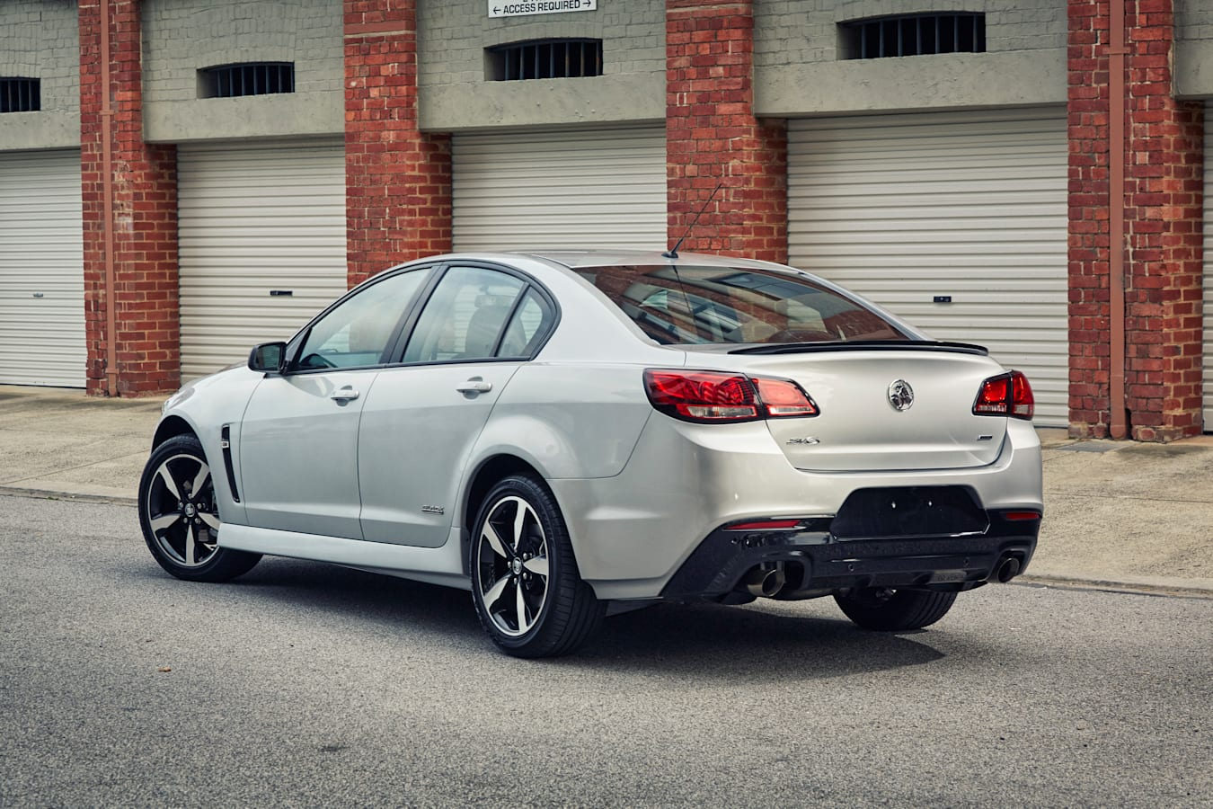 Holden Commodore Black Edition rear side