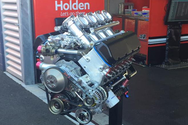 Jamie Coles HRT supercar engine