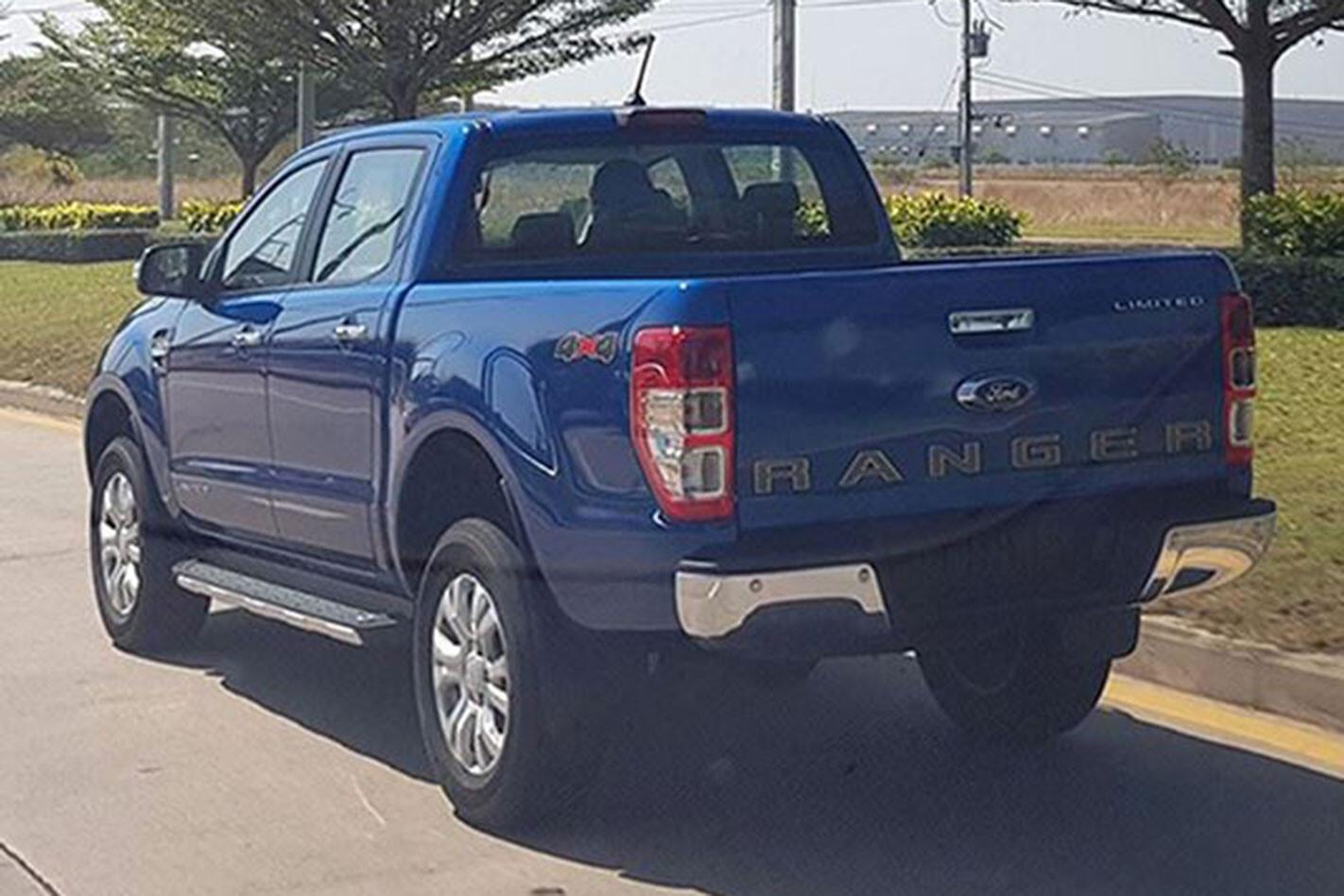 Ford Ranger facelift