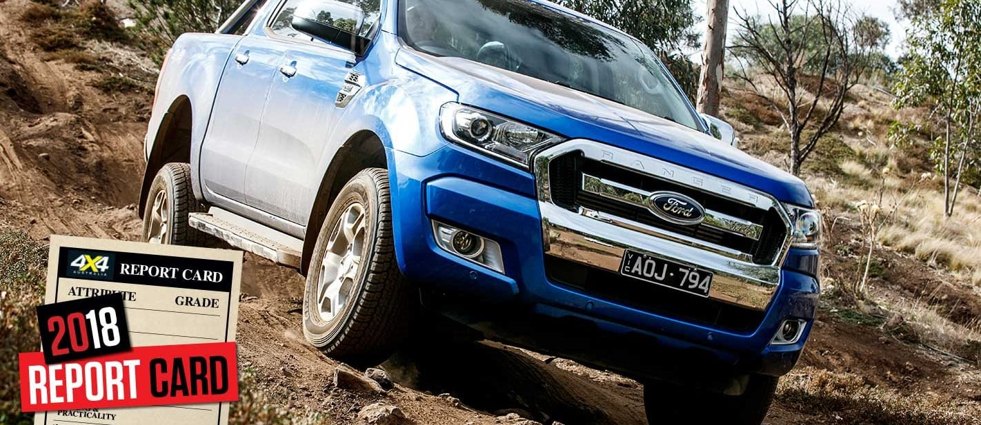 Mid-2018 4x4 Sales Report Card Ford Ranger