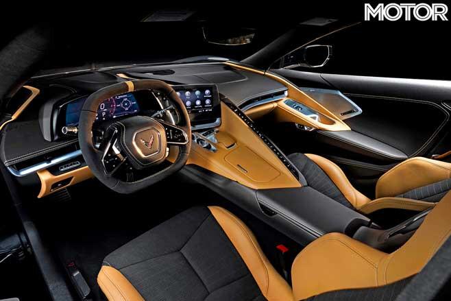 2020 Chevrolet Corvette C 8 Interior Jpg