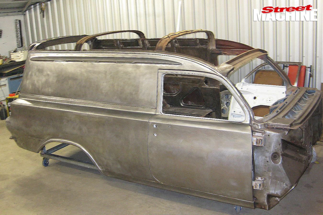 Holden -EH-Panel -Van -chassis -before
