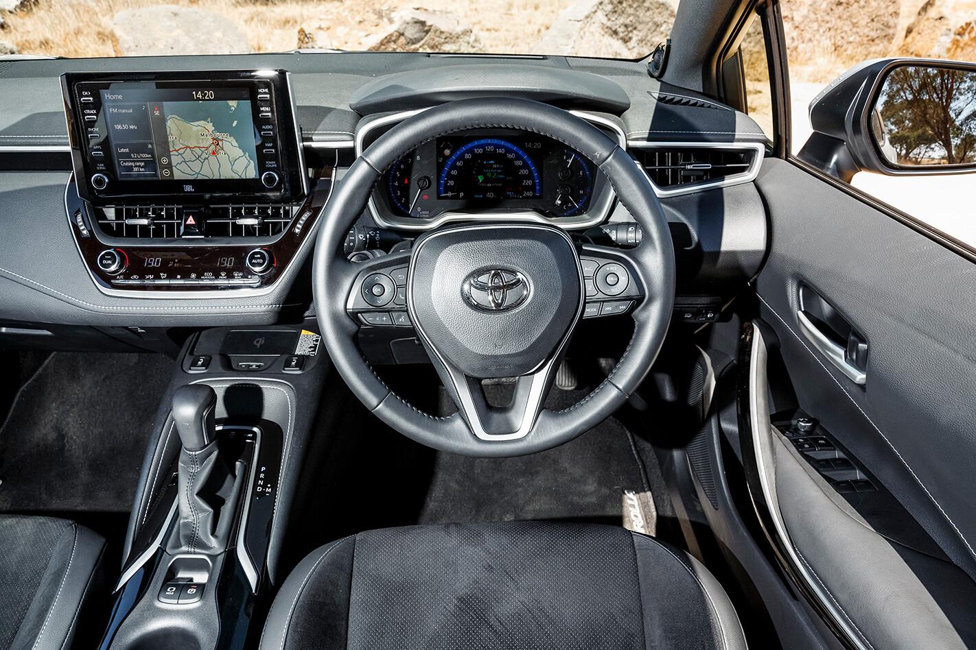 Toyota Corolla Inside Jpg