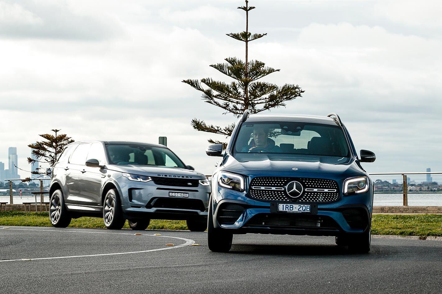 Mercedes Benz Vs Land Rover Discovery 5 Jpg