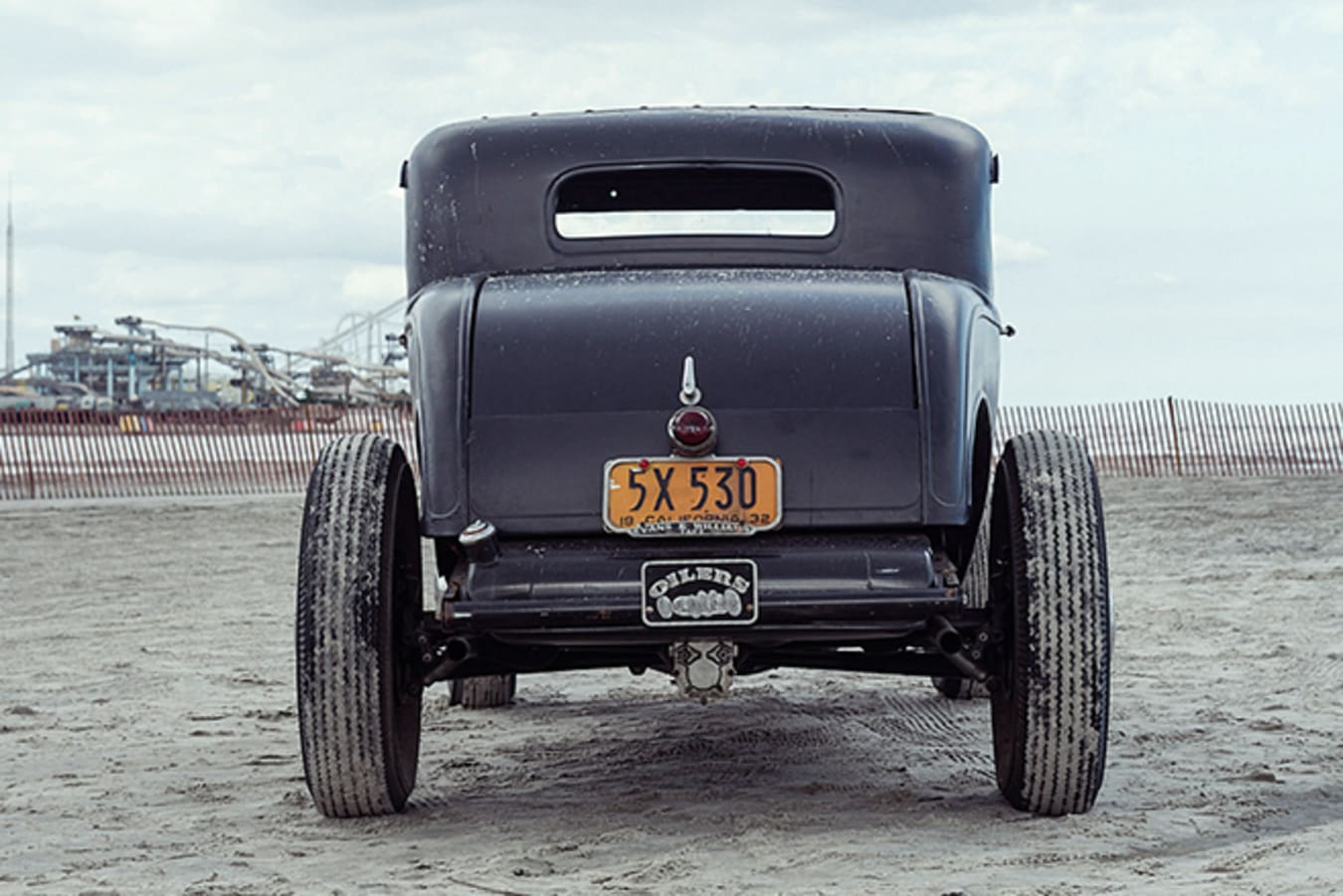 Ford 5 window coupe rear