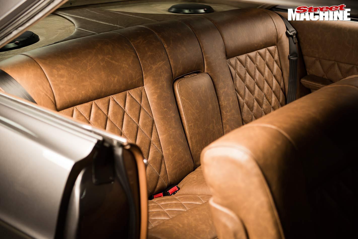 Ford Galaxie interior rear