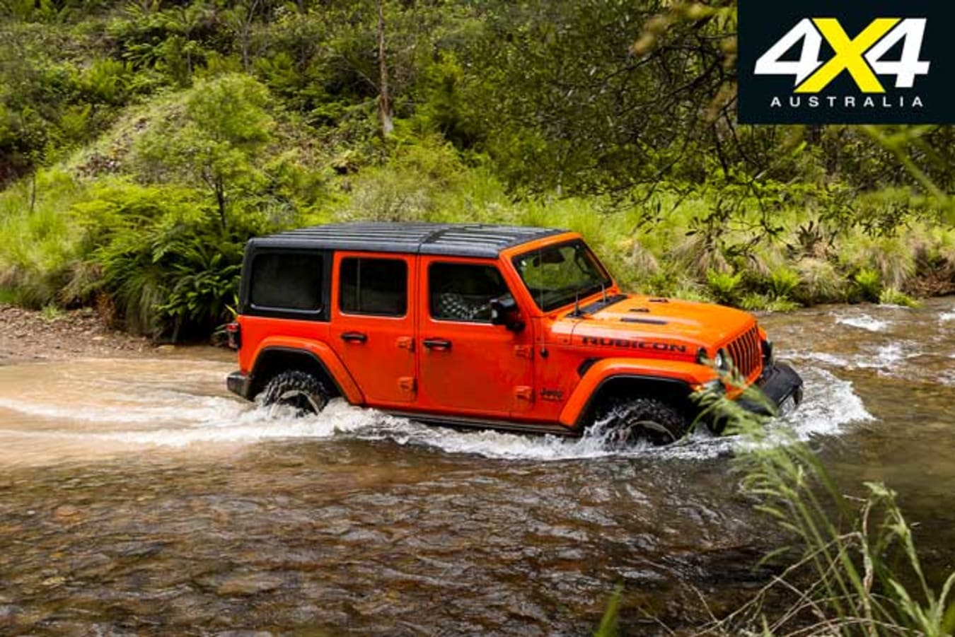 2020 4 X 4 Of The Year Jeep Wrangler Rubicon Water Wading Review Jpg