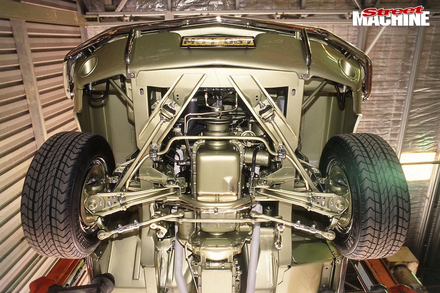 Ford Mustang underside