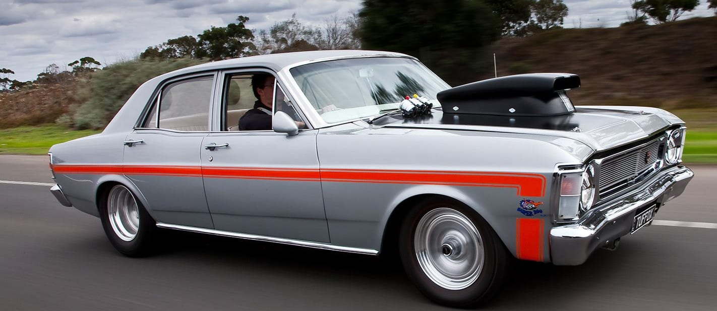 Ford XW Falcon onroad