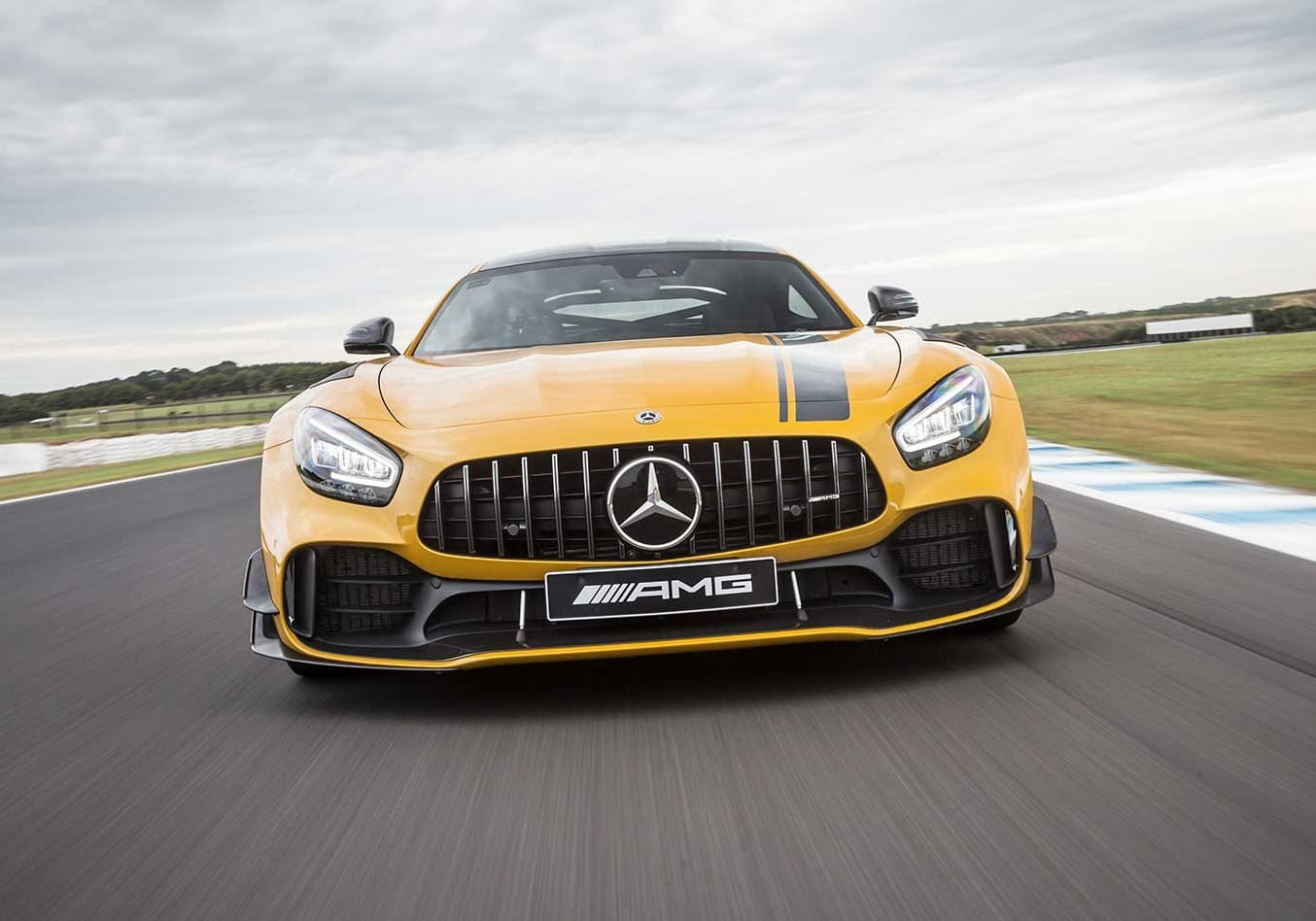 2020 Mercedes-AMG GT R Pro track review.