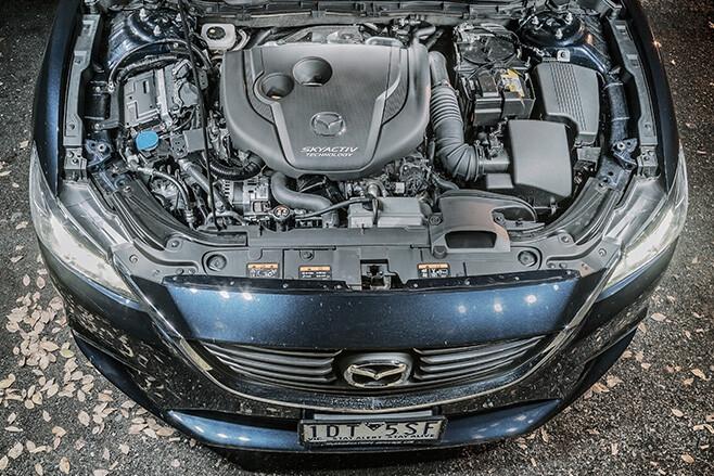 Mazda -6-gt -engine
