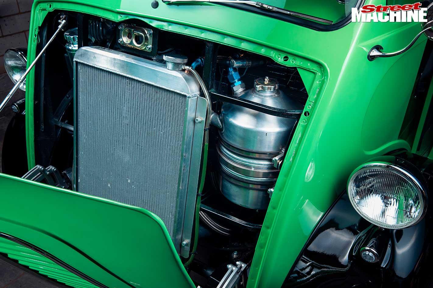 Morris J-Van radiator