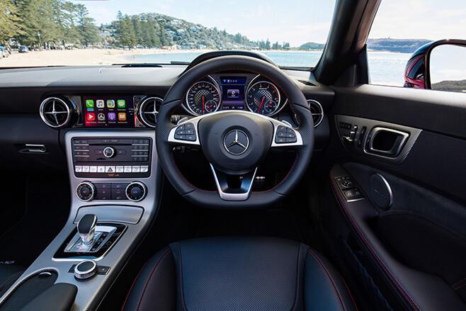 2017 Mercedes-AMG SLC 43 interior