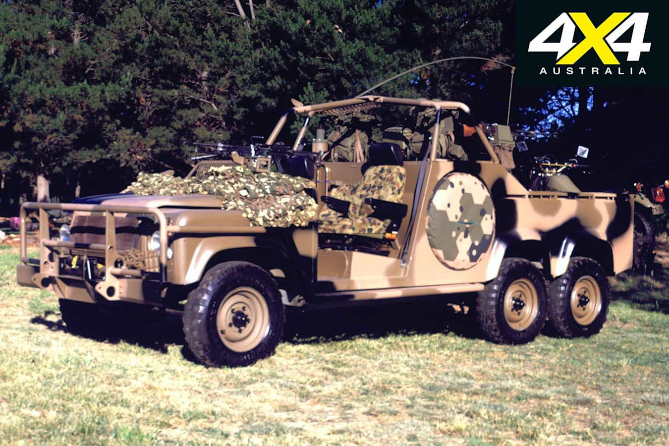 70 Years Of Land Rover 6 X 6 Military Land Rover Display Jpg