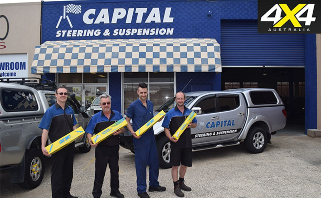Capital steering stock the OzTec shock absorbers