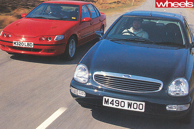 1995-Ford -Falcon -XR6-and -Ford -Scorpio