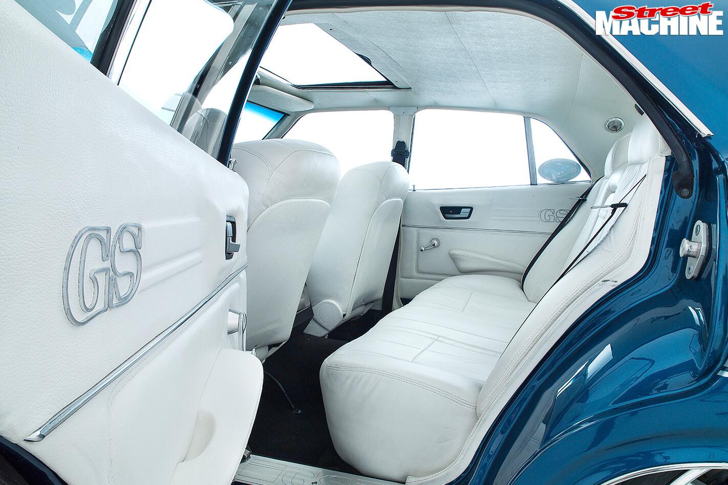 Ford -XB-Falcon -Fairmont -GS-interior -rear