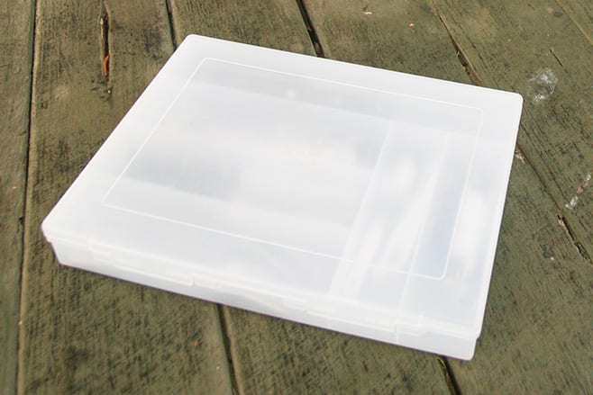 Creative Camping Solutions' Cutlery box closed
