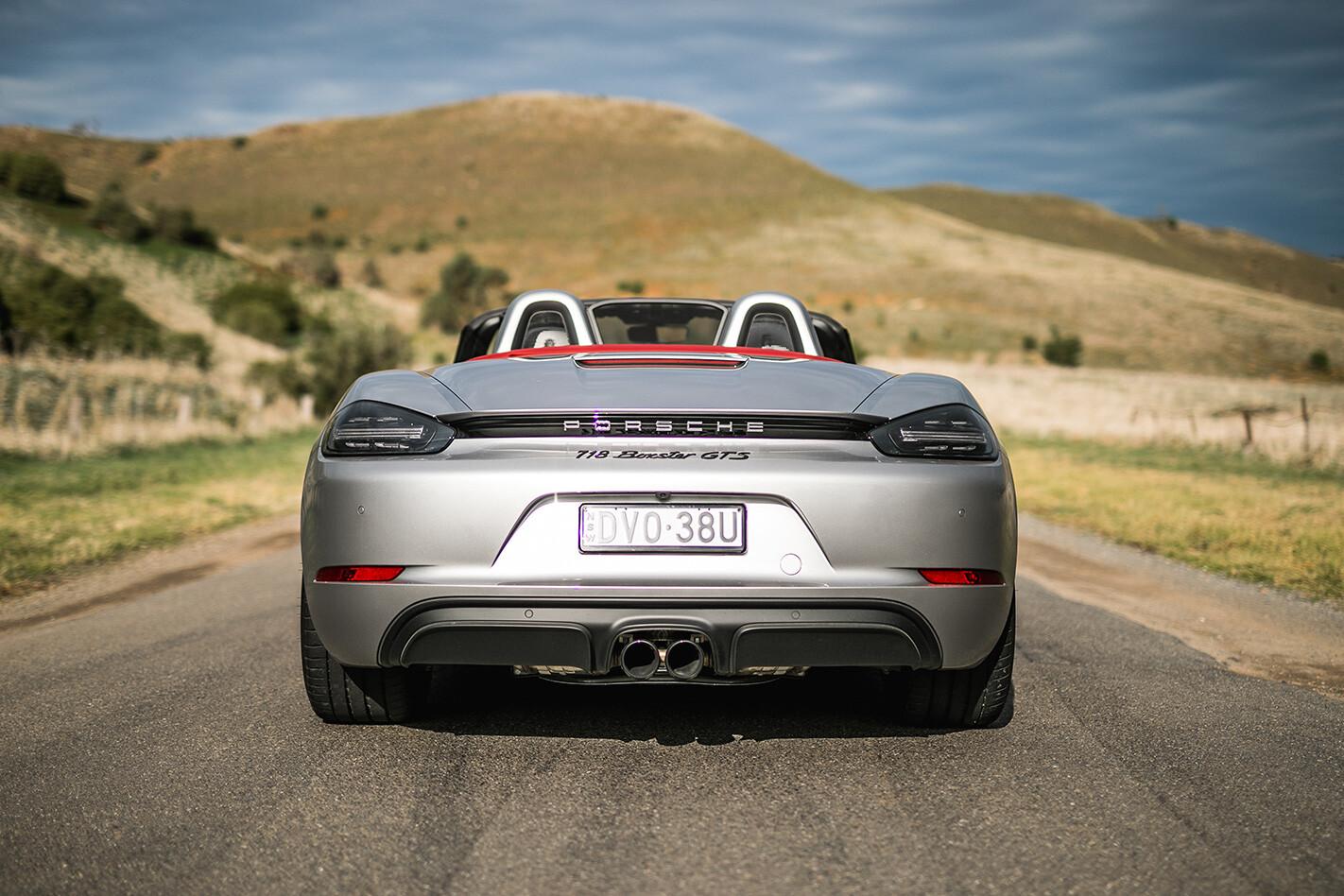 Porsche Boxster Gts Rear Jpg