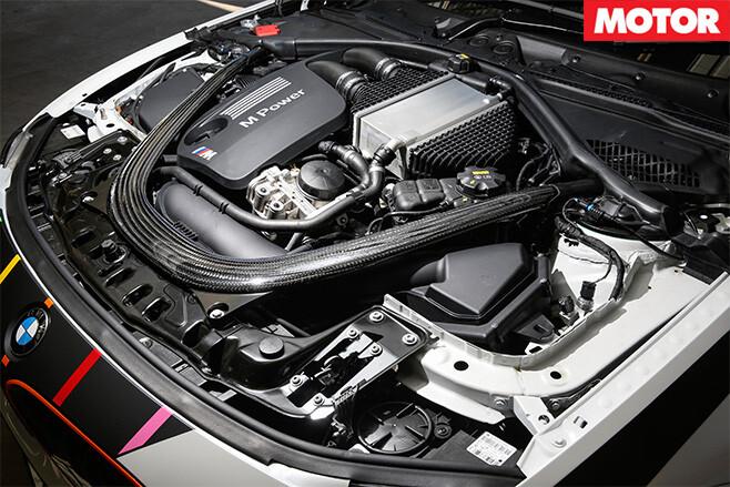 City performance bmw m4 engine