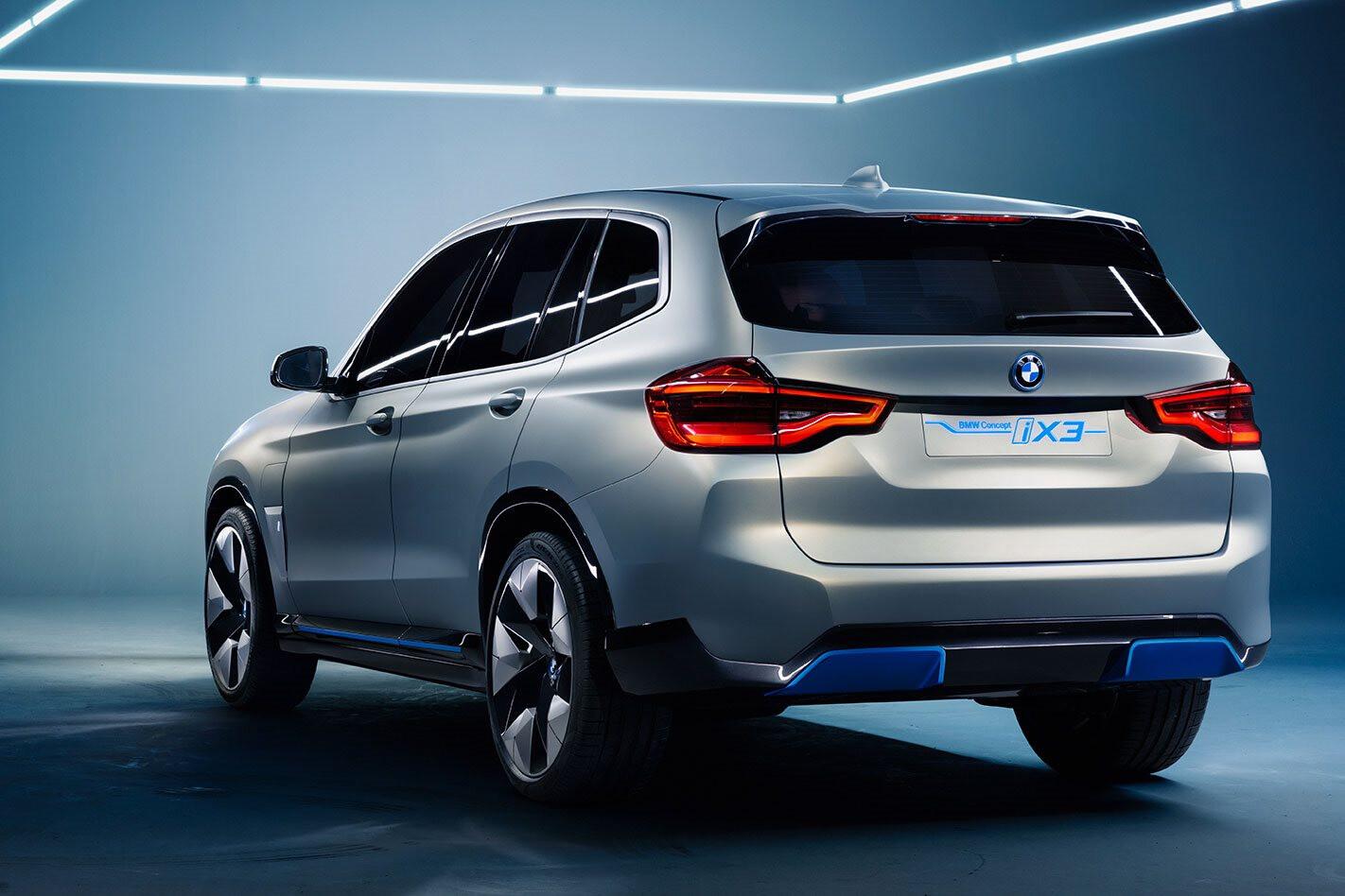 2018 BMW I X 3 Concept Studio Side Exhausts Jpg