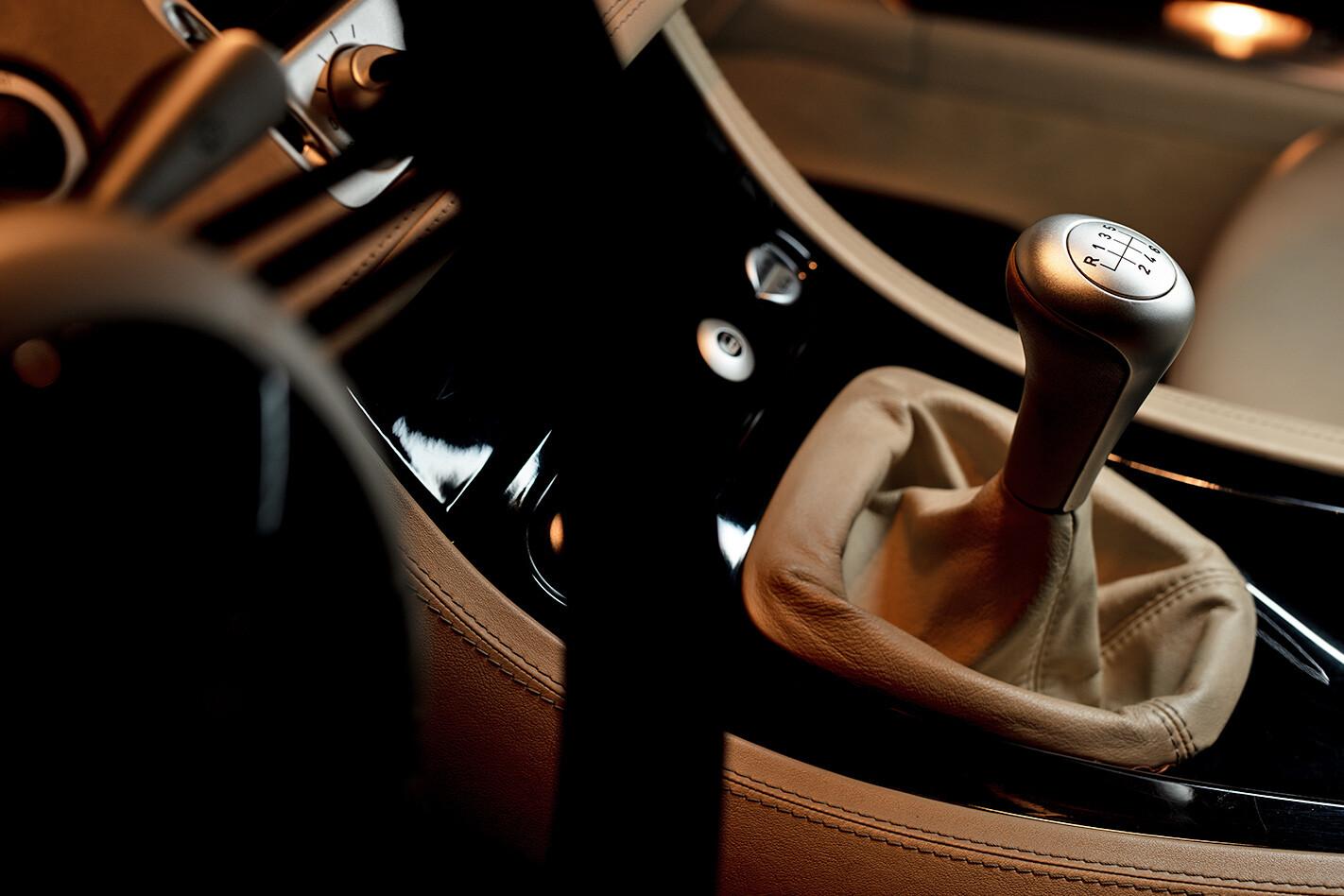 BMW Z8 centre console