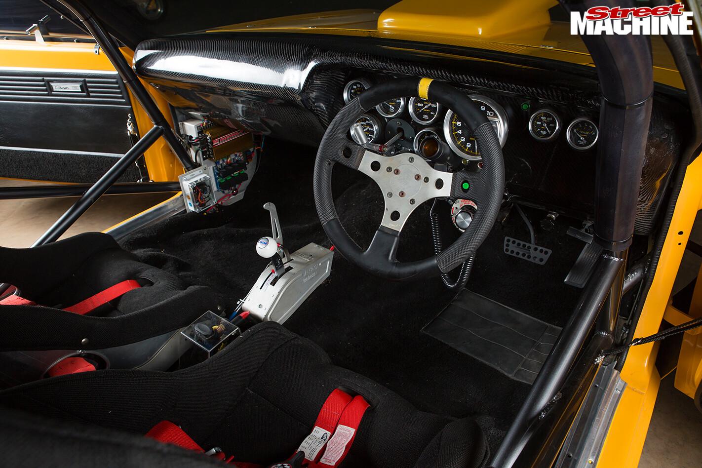 Chrysler -valiant -e 55-charger -interior -front