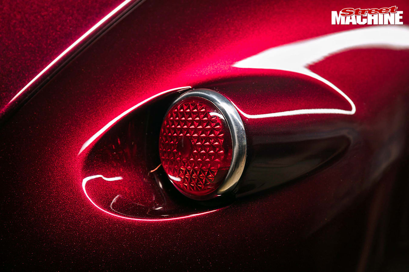 Plymouth coupe tail light
