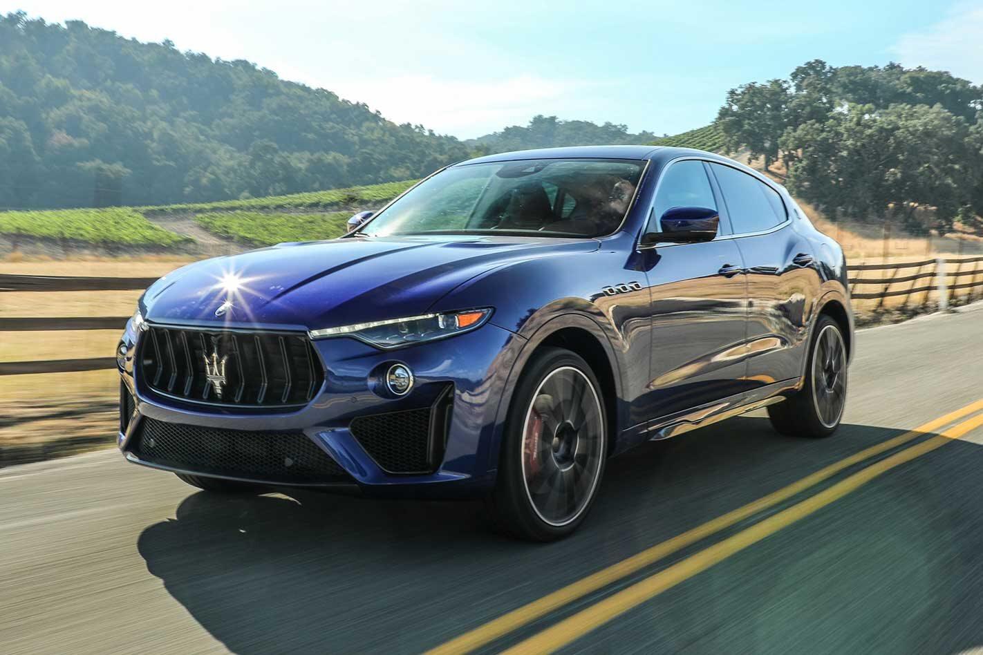 2019 Maserati Levante Trofeo Performance Review Jpg
