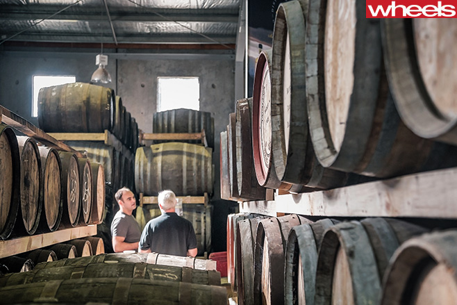 Whisky -Distillery -Stephen -Corby