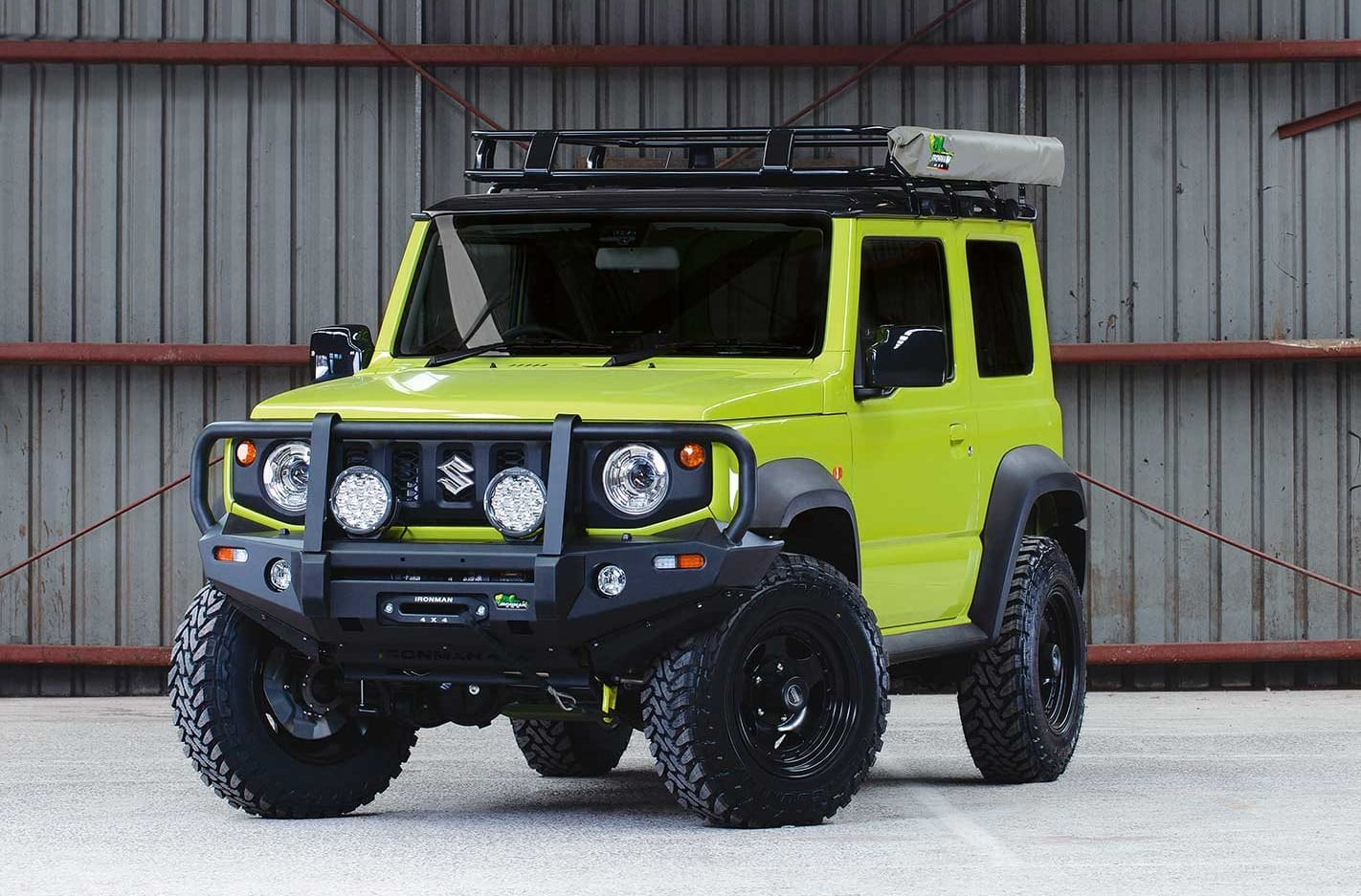 Ironman 4x4 releases GVM upgrade suspension kit for Jimny