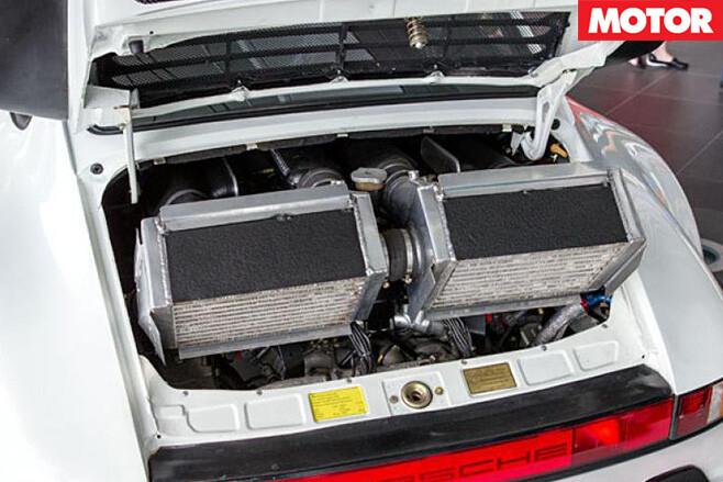 McLaren F1 engined Porsche 911 engine