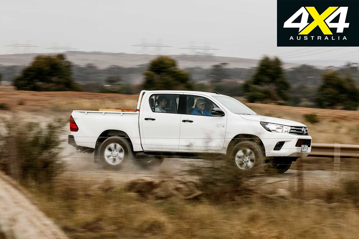 2018 Ute Test Toyota Hilux SR Payload Side Profile Jpg