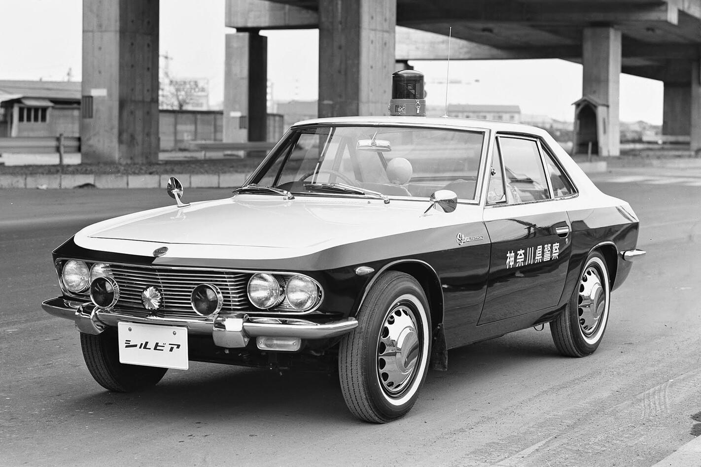 Nissan Silvia police