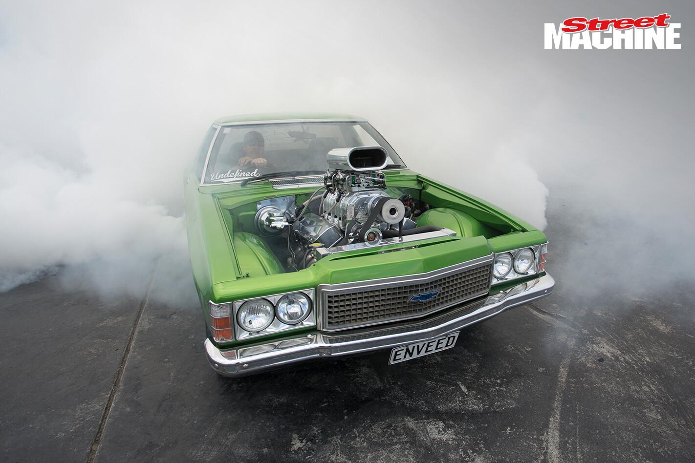 Holden HZ Ute Blown Burnout