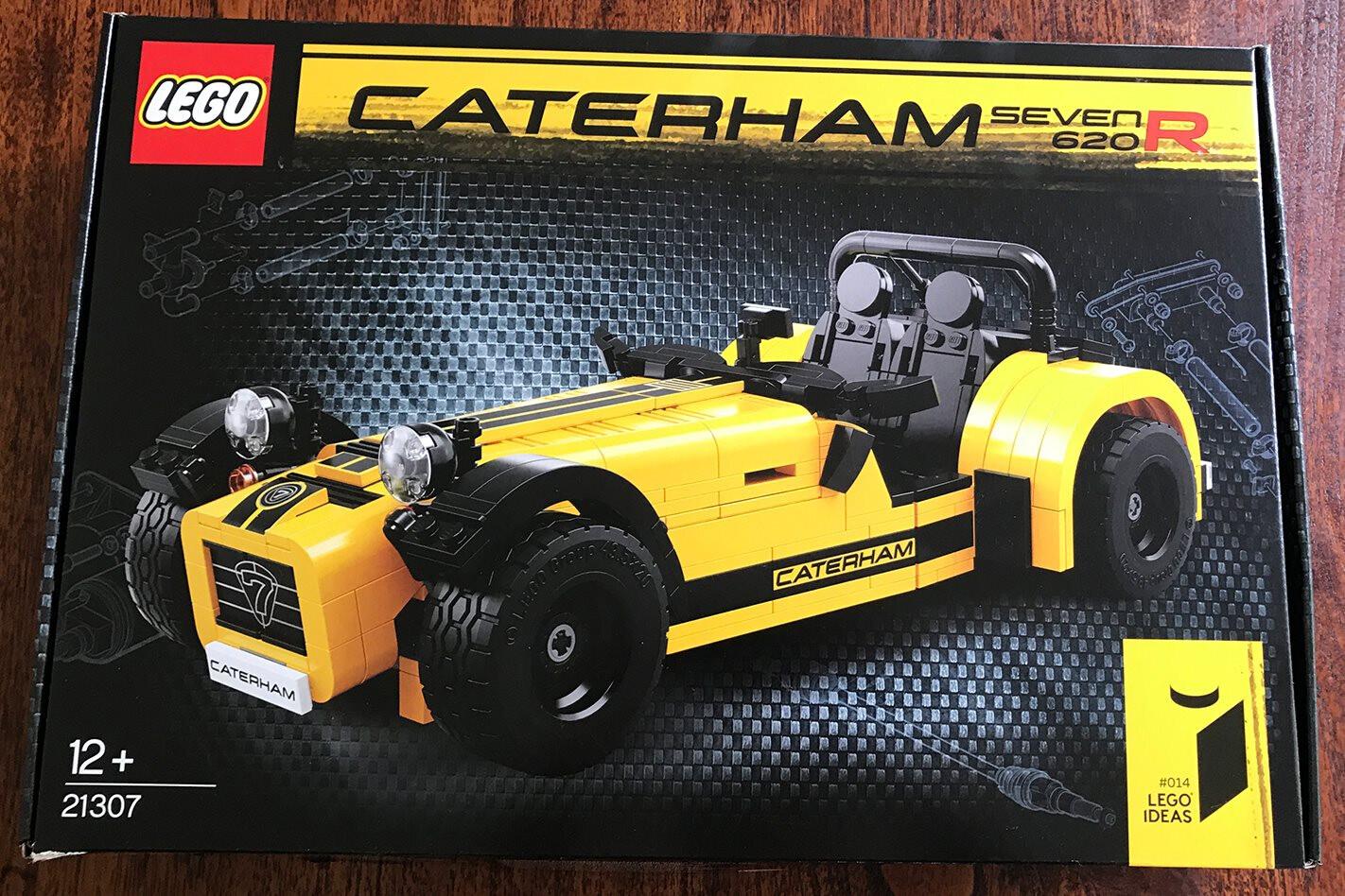 LEGO Caterham 620R kit