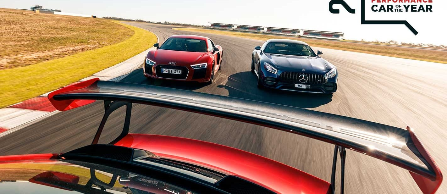 Performance Car of the Year 2019 Track test
