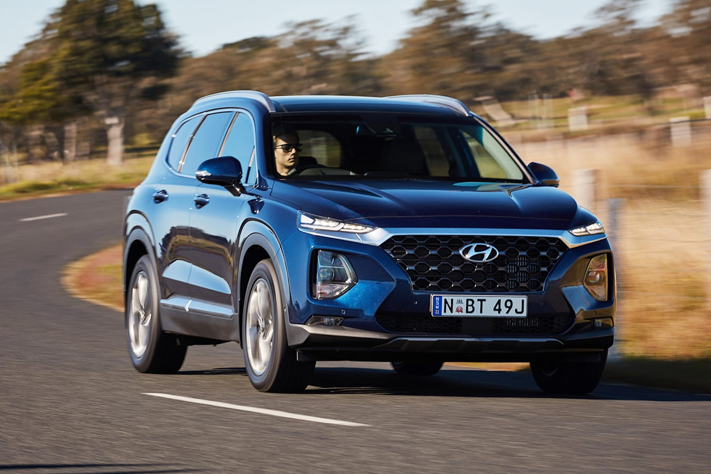 Hyundai Santa Fe Front Pan Jpg