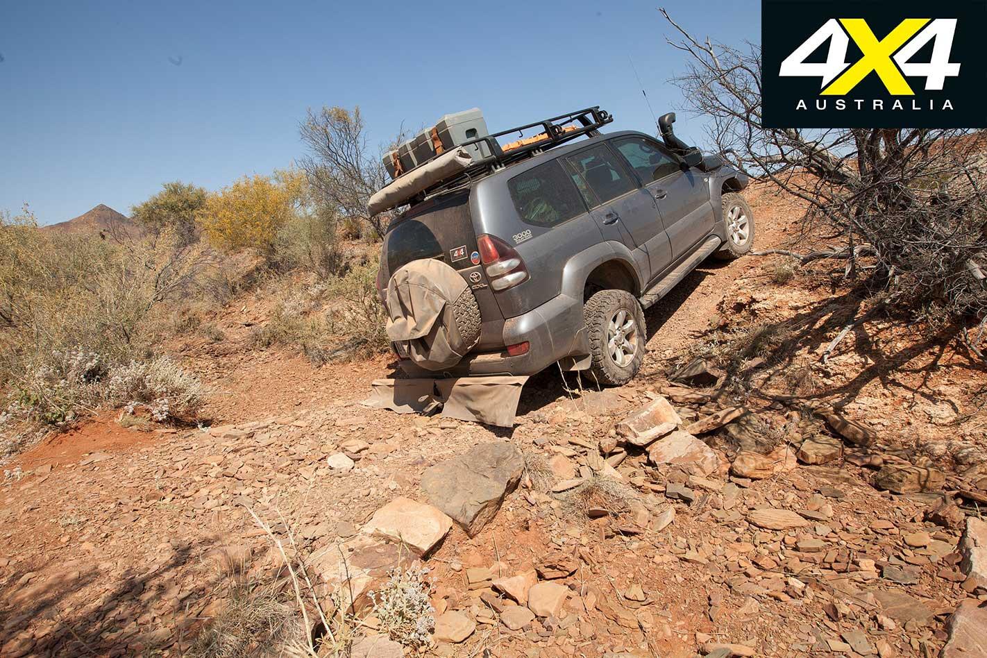 4 X 4 Trip Through The Copper Track Off Road Tracks Jpg