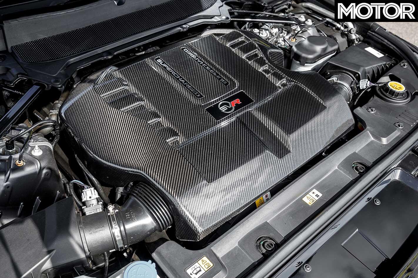 2019 Range Rover Sport SVR Engine Jpg