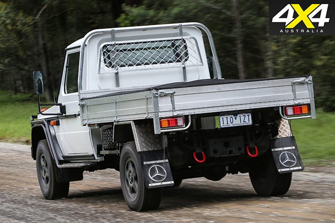 Mercedes--Benz W461-G300 CDI Cab Chassis -rear