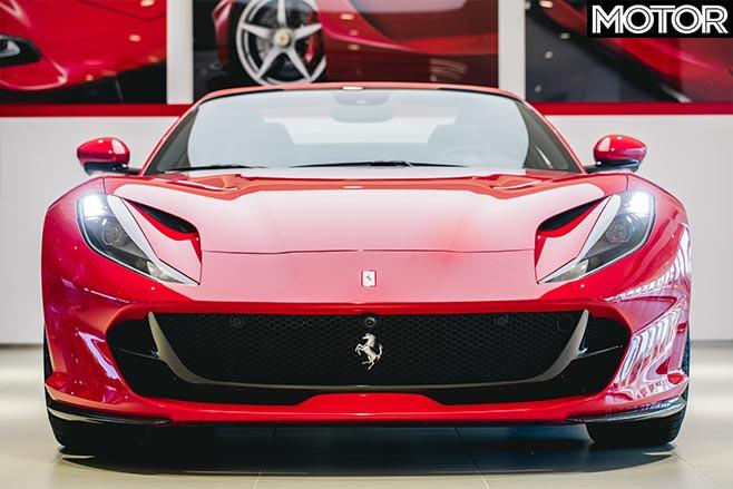 Ferrari 812 GTS front