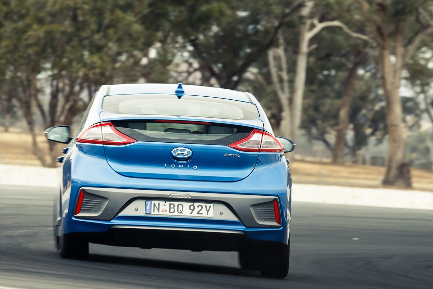 Hyundai Ioniq Rear Jpg