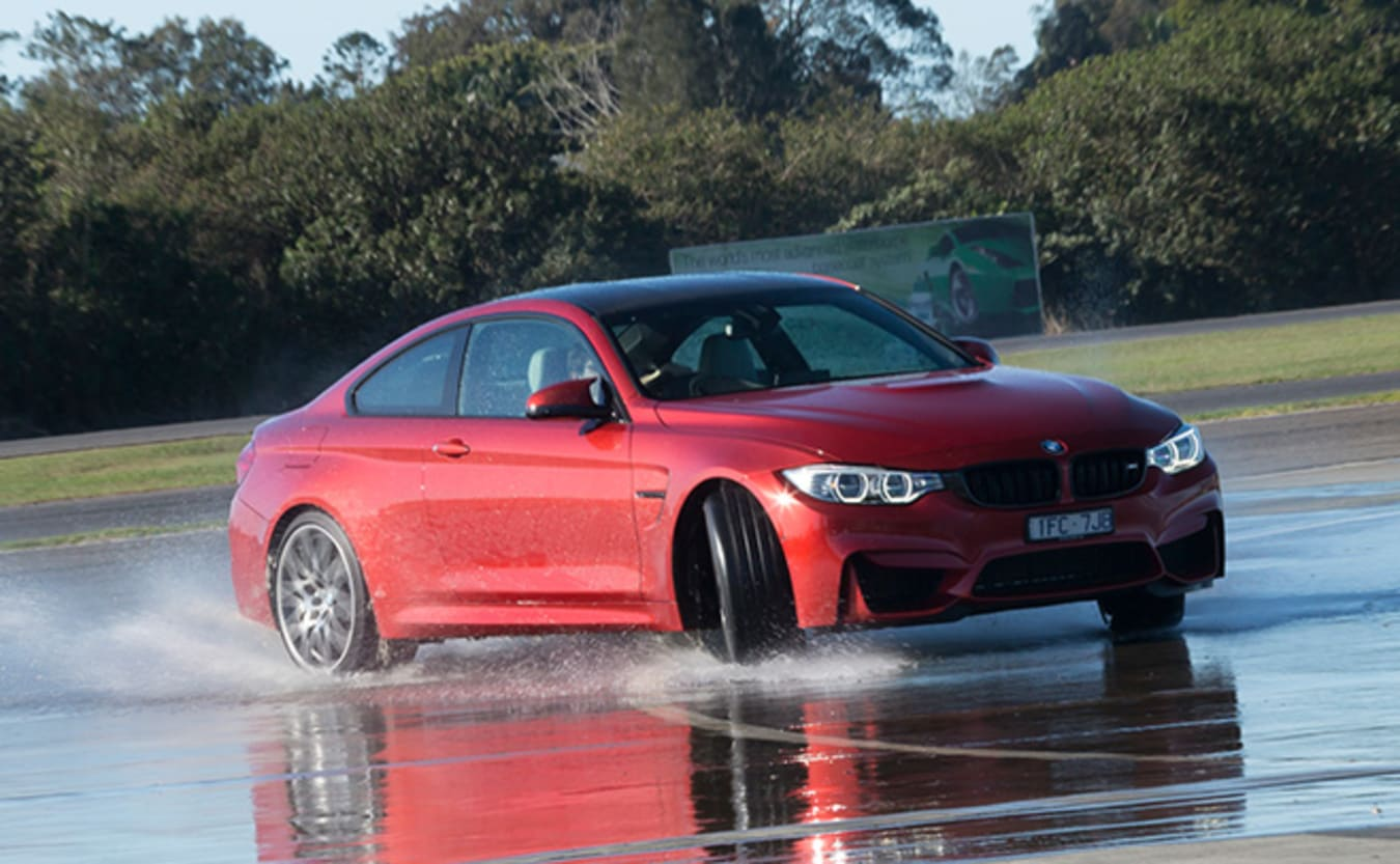 BMW M3 and M4 competition