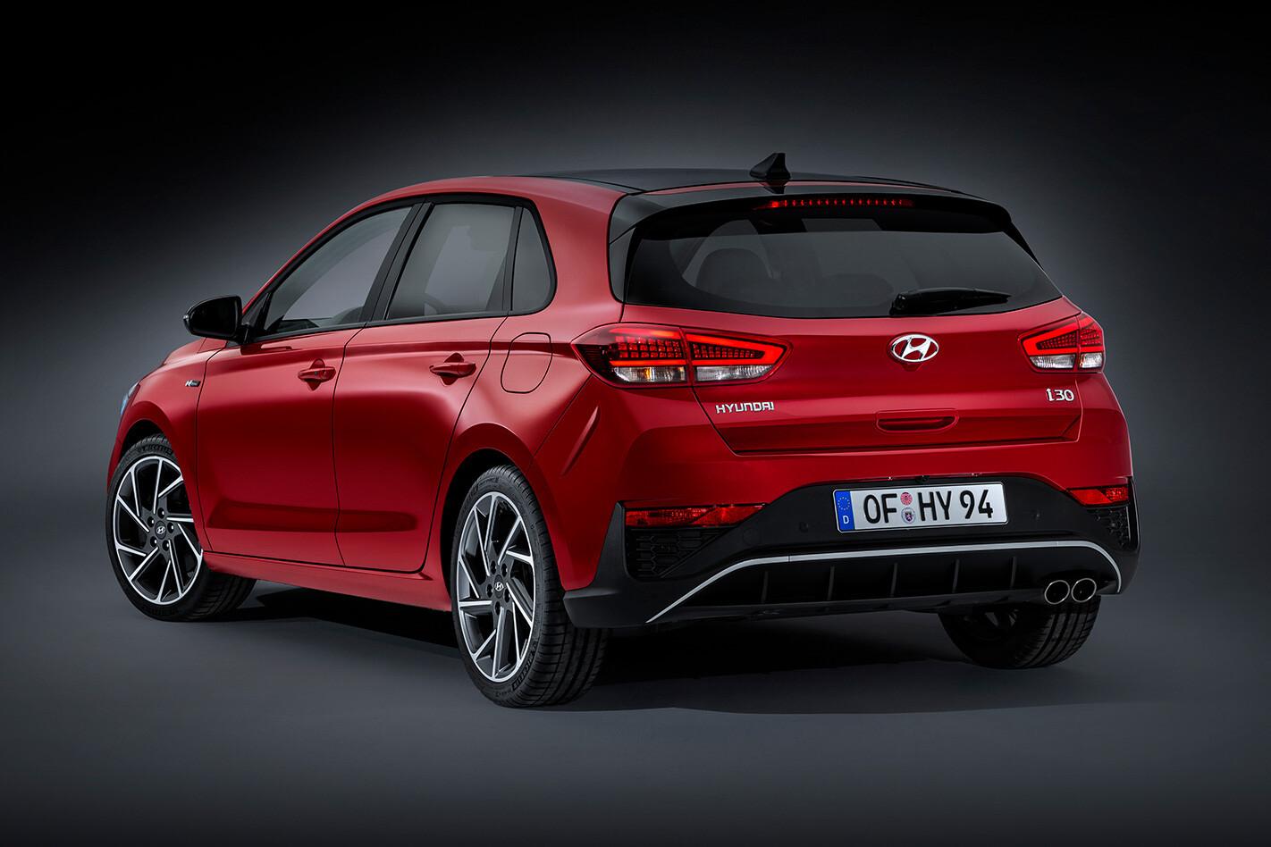 Hyundai I 30 Rear Jpg