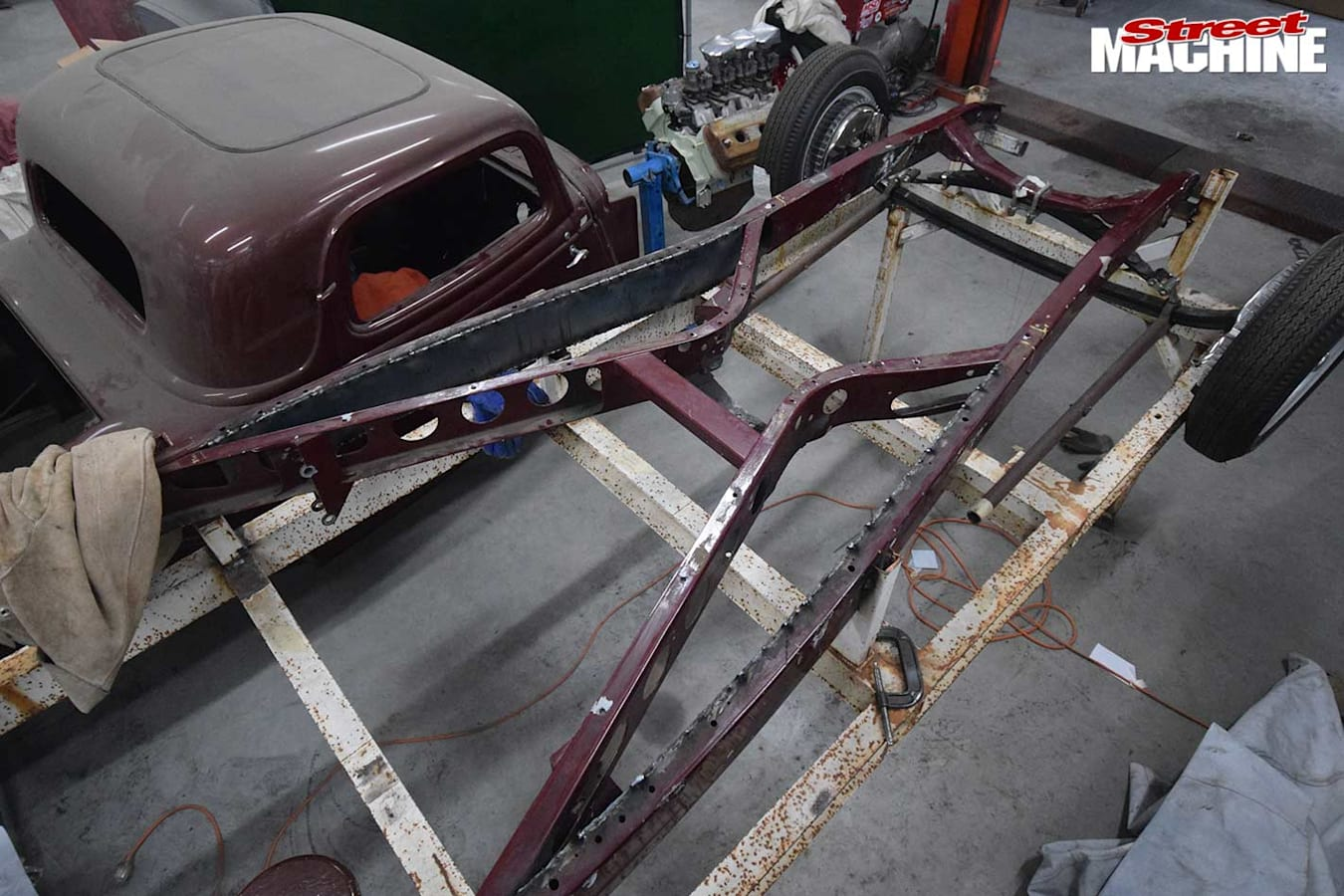 ford coupe hot rod project
